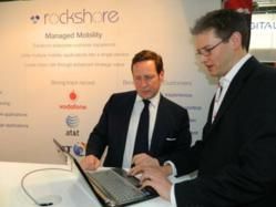 Ed Vaizey meets Mike Slinn, Managing Director of Rockshore